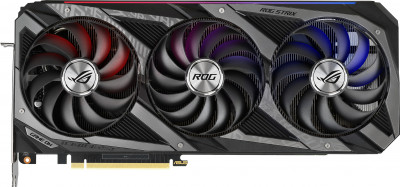 Asus PCI-Ex GeForce RTX 3090 ROG Strix OC 24 GB GDDR6X (384 bit) (19500) (2 x HDMI, 3 x DisplayPort) (ROG-STRIX-RTX3090-O24G-GAMING) + Блок живлення Asus ROG Thor 1200 W