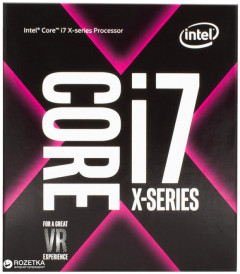 Процессор Intel Core i7-7800X X-Series 3.5GHz/8GT/s/8.25MB (BX80673I77800X) s2066 BOX