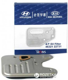 Фильтр коробки передач Mobis Hyundai/KIA Oil Filter Automatic Transmission (46321-22731)
