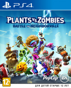 Игра Plants vs. Zombies: Битва за Нейборвиль. Battle for Neighborville для PS4 (Blu-ray диск, Russian version)