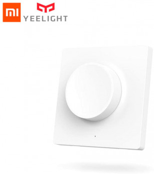 Вимикач з димером Yeelight Smart Bluetooth Wireless Dimmer Wall Light Switch Remote Control (YLKG08YL)