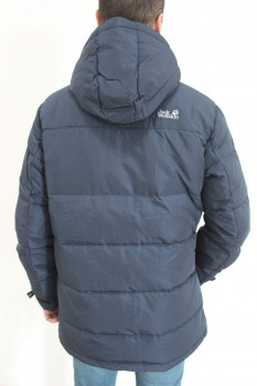 Чоловічий пуховик JACK WOLFSKIN DOWNSHELL PARKA MEN JW1105571 Navy