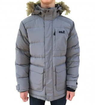Пуховик чоловічий Jack Wolfskin Lakota Down Jacket JW1203791 Grey