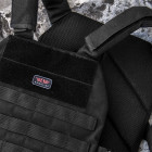 Плитоноска Armoline Plate Carrier BLACK - зображення 4