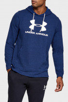 Чоловіче синє худі SPORTSTYLE TERRY LOGO Under Armour L 1348520-409