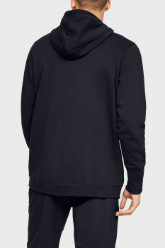 Чоловіче чорне худі UA BASELINE FLEECE PO HOOD-BLK Under Armour 1343007-001