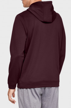 Чоловіче бордове худі PERFORMANCE FLEECE GRAPHIC HOODY Under Armour 1329743-600