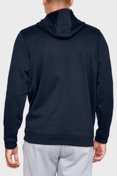 Чоловіче синє худі PERFORMANCE FLEECE GRAPHIC HOODY Under Armour 1329743-408