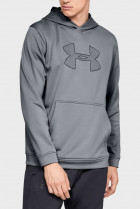 Чоловіче сіре худі PERFORMANCE FLEECE GRAPHIC HOODY Under Armour M 1329743-035