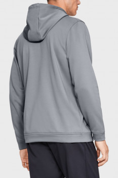 Чоловіче сіре худі PERFORMANCE FLEECE GRAPHIC HOODY Under Armour 1329743-035