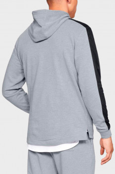 Чоловіче сіре худі TB TERRY PO HOODIE Under Armour 1320713-035