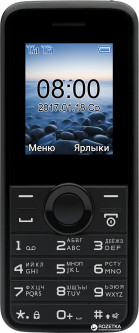Philips E106 Dual Sim Black