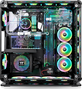 Корпус Thermaltake Core P8 Tempered Glass Full Tower Chassis Black (CA-1Q2-00M1WN-00)