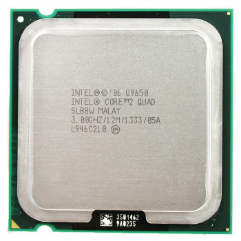 Процессор Intel Core 2 Quad Q9650 3.00GHz/12M/1333 (SLB8W) s775, tray