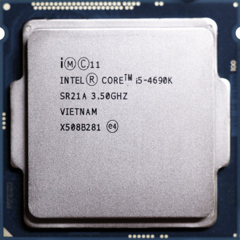 Процессор Intel Core i5-4690K 3.50GHz/6M/5GT/s (SR21A) s1150, tray