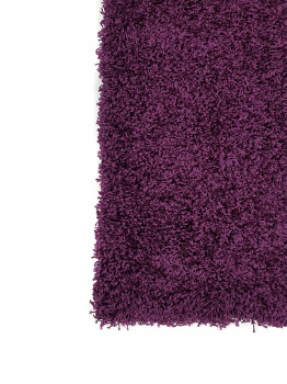 Ворсистий килим SUPER LUX SHAGGY 1.2х1.8м. DARK PURPLE 6365A