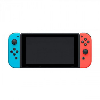 Nintendo Switch Neon Blue-Red (Upgraded version) + Игра Super Mario 3D All-Stars