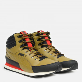 Черевики Puma Vista Mid Utility 37220301 Moss Green-High Risk Red-Puma Black