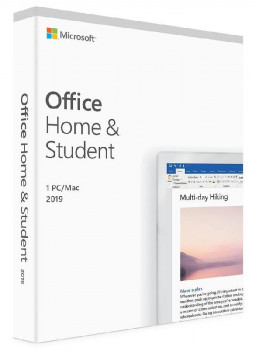 ПО Microsoft Office Home and Student 2019 English Medialess (79G-05061)
