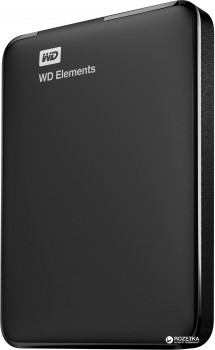 Жорсткий диск Western Digital Elements 1TB WDBUZG0010BBK-WESN 2.5 USB 3.0 External Black