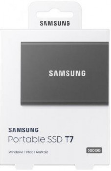 SSD-накопитель Samsung USB 3.2 500GB T7 (MU-PC500T/WW)