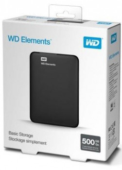 "Жорсткий диск (HDD) Western Digital 2.5"" 500GB (WDBUZG5000ABK-WESN)"