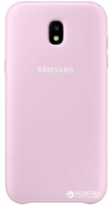 Панель Samsung Dual Layer Cover для Samsung Galaxy J3 2017 J330 Pink (EF-PJ330CPEGRU)