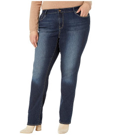 Джинси Signature by Levi Strauss & Co. Gold Label Plus Size Straight Blue Jeans, 24W 32L (10239975)