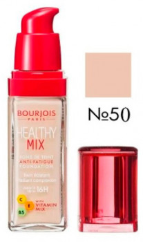 Тональный крем Bourjois Radiance Reveal Healthy Mix Foundation №50 (rose ivory) 30 мл (3614223218493)
