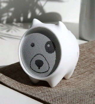 Bluetooth колонка Baseus Dogz Wireless Speaker White (NGE06-02)