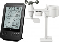 Метеостанция Bresser Weather Center 5-in-1 Black