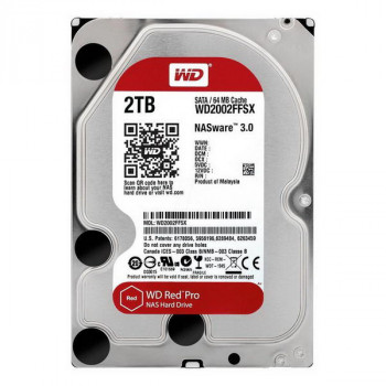 HDD SATA 2.0TB WD Red Pro NAS 7200rpm 64MB (WD2002FFSX)