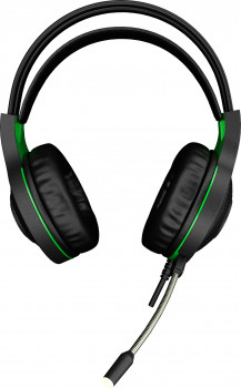 Навушники GamePro Racer HS610G Black-Green