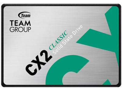 "Накопитель SSD 512GB Team CX2 2.5"" SATAIII 3D SLC T253X6512G0C101"