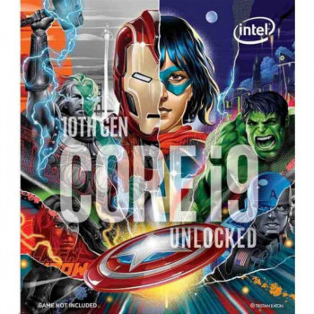 Процессор Intel Core i9-10850K 3.6GHz/8GT/s/20MB (BX8070110850KA) s1200 Marvels Avengers Collectors Edition BOX