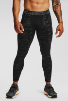 Мужские черные тайтсы UA Armour CG Print Leggings Under Armour MD 1360575-001