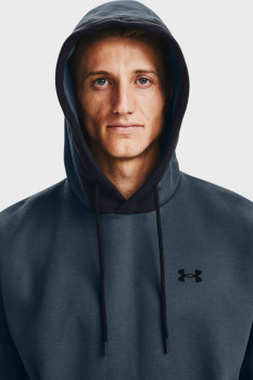 Чоловіче синє худі UA Recover Fleece Hoodie Under Armour 1357071-467