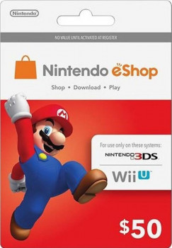 Nintendo eShop Card $50 (USA)