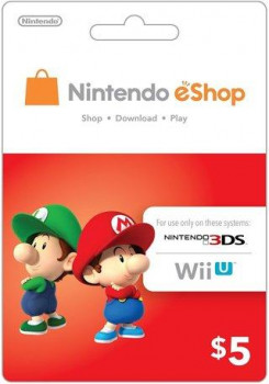 Nintendo eShop Card $5 (USA)