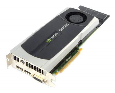Відеокарта HP HP NVIDIA QUADRO 6000 6.0 GB GRAPHICS CARD (717701-001) Refurbished