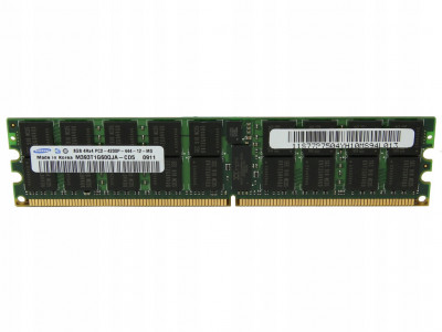Оперативная память Samsung SAMSUNG 8GB (1*8GB) 4RX4 PC2-4200P DDR2-533MHZ MEMORY KIT (M393T1G60QJA-CD5) Refurbished
