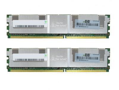 Оперативная память HP HP 16GB DDR2 (2x8GB) Memory Kit (AB456AX*2) Refurbished