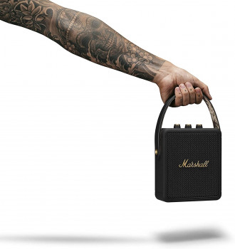 Колонка Marshall Portable Loudspeaker Stockwell II Black and brass