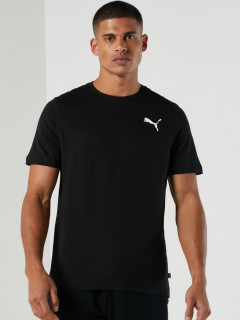 Футболка Puma Ess Small Logo Tee 58666851 S Puma Black-Cat (4063697405905)