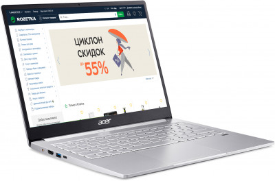Ноутбук Acer Swift 3 SF313-53 (NX.A4KEU.005) Silver