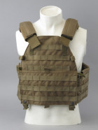 Бронежилет Pantac Molle 6094 Plate Carrier VT-C094 With Commerbund, Cordura Medium, Хакі (Khaki) - зображення 1