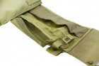 Бронежилет Pantac Molle 6094 Plate Carrier VT-C094 With Commerbund, Cordura Medium, Хакі (Khaki) - зображення 6