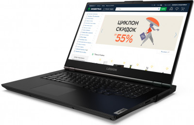 Ноутбук Lenovo Legion 5 17ARH05H (82GN002KRA) Phantom Black