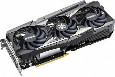 INNO3D PCI-Ex GeForce RTX 3060 Ichill X3 Red 12GB GDDR6 (192bit) (1837/15000) (3 x DisplayPort, HDMI) (C30603-12D6X-1671VA39A)