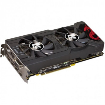 Видеокарта Radeon Rx 570 Powercolor Red Dragon 8Gb 256Bit Gddr5 (1250/7000) (1 х Dvi, 1 х Hdmi, 3 х Displayport) (Axrx 570 8Gbd5-3Dhd/oc)